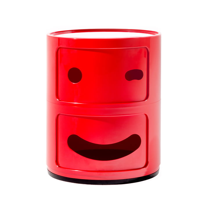 Kartell - Componibili Smile 4926, rot