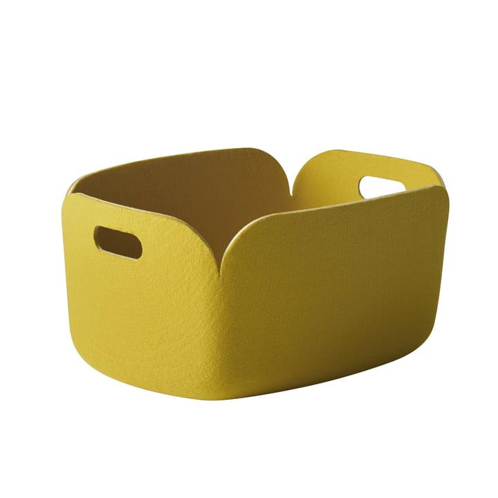 Restore Aufbewahrungskorb von Muuto in Gelb