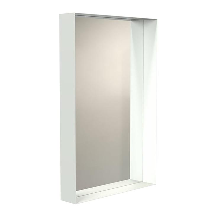 Unu Wandspiegel 4128 mit Rahmen 60 x 90 cm von Frost in weiß