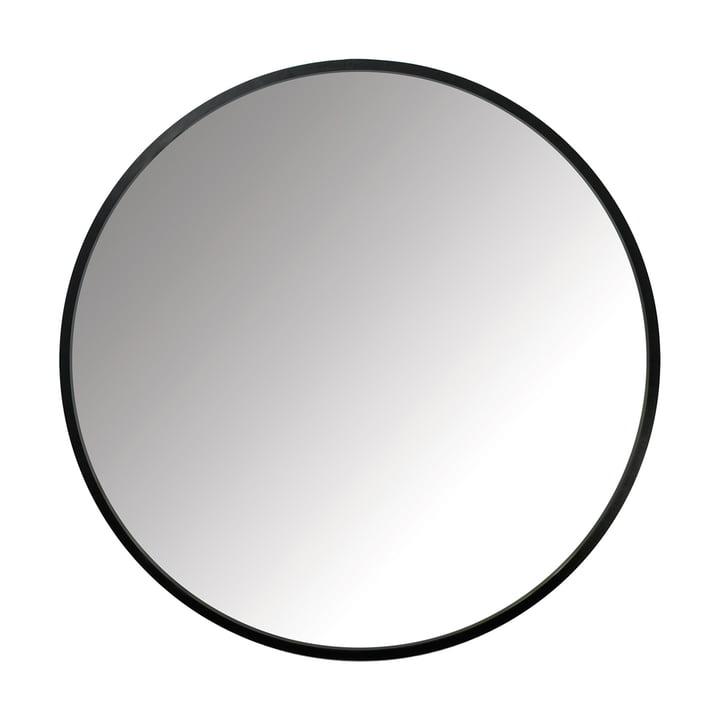 Der Umbra - Hub Spiegel Ø 94 cm in schwarz