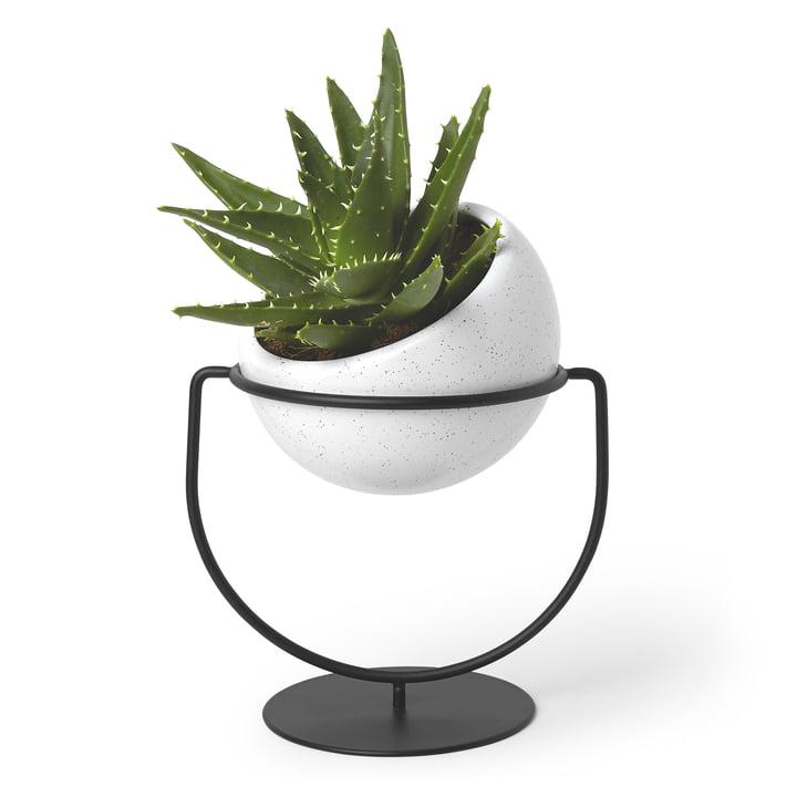 Der Umbra - Nesta Pflanzenständer, weiß gesprenkelt