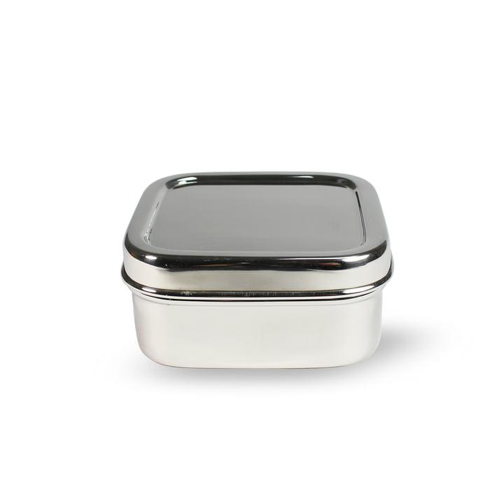 Stahl Lunchbox quadratisch XS von Hay