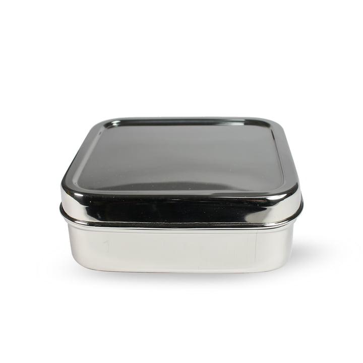 Stahl Lunchbox quadratisch S von Hay