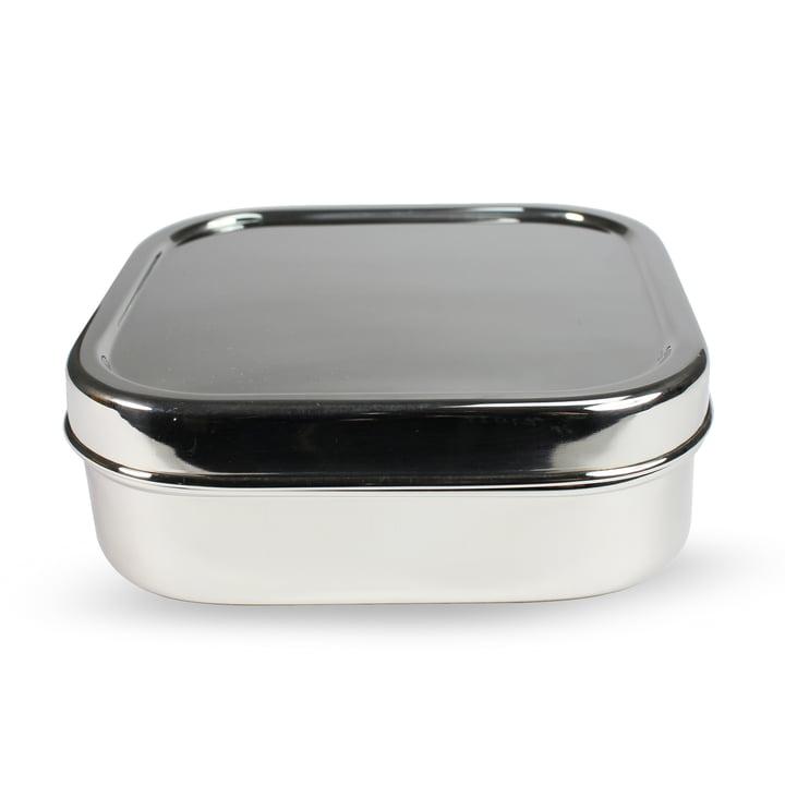 Stahl Lunchbox quadratisch M von Hay