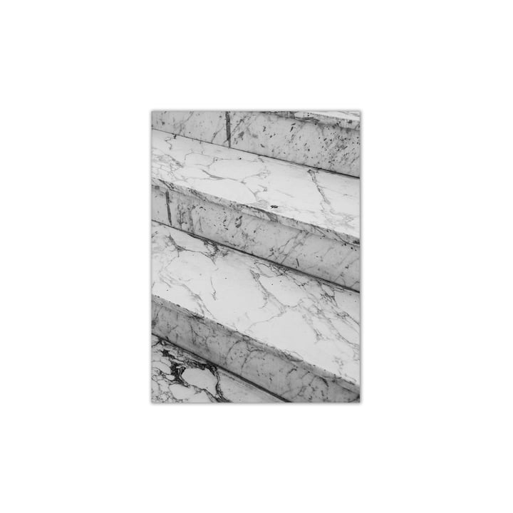Paper Collective - Marble Steps, 30 x 40 cm