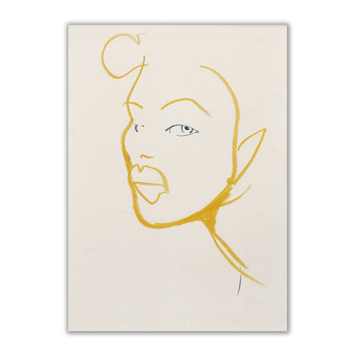 Paper Collective - Silhouette 03, 50 x 70 cm
