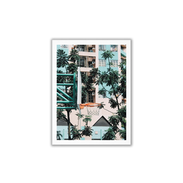 Paper Collective - Basketball Cities 01 (Hong Kong), 30 x 40 cm