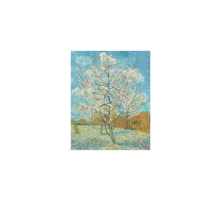 Blühender Pfirsichbaum (Van Gogh) 80 x 100 cm von IXXI