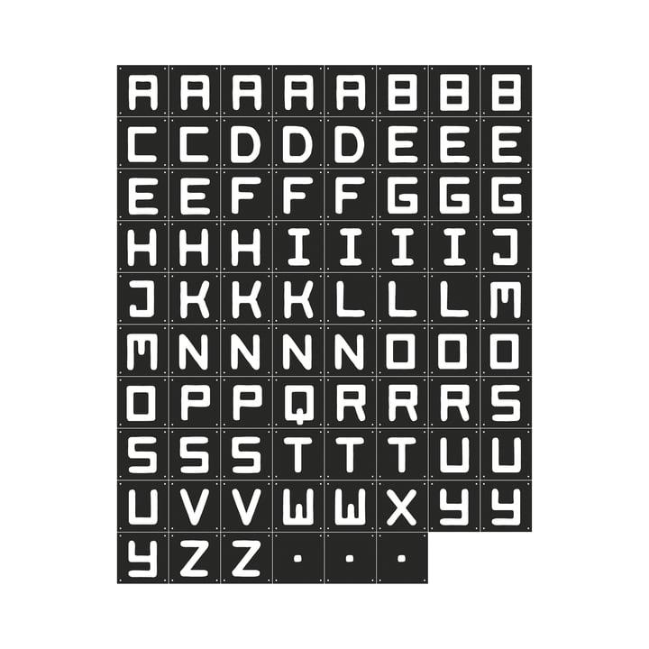 Quotes (schwarz) 84 x 126 cm von IXXI