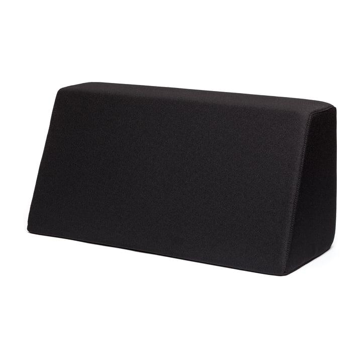 Tojo - lehn Rückenkissen für Tojo Bett, schwarz