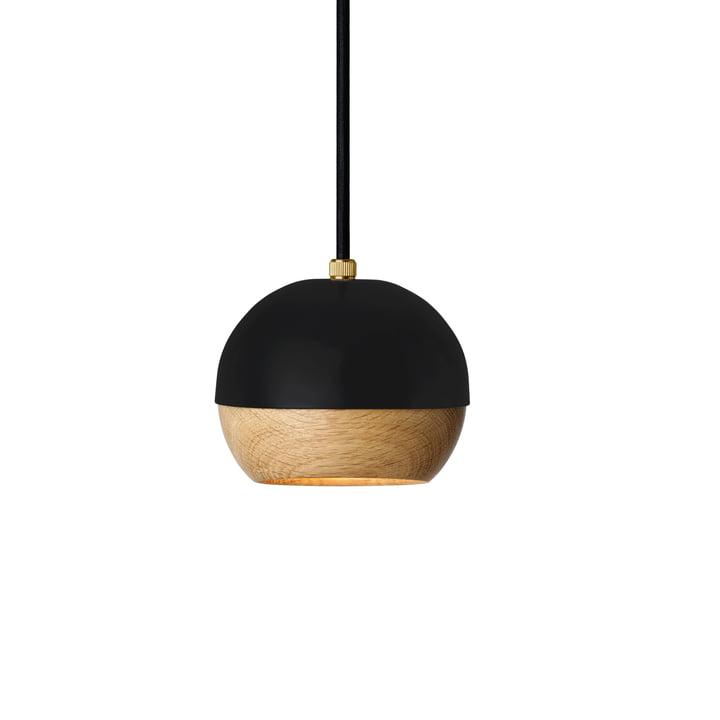 Ray Pendelleuchte Ø 11,9 cm von Mater in Schwarz