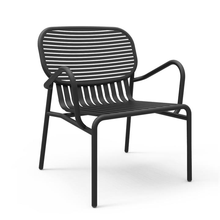 Petite Friture - Week-End Sessel, schwarz (RAL 9005)