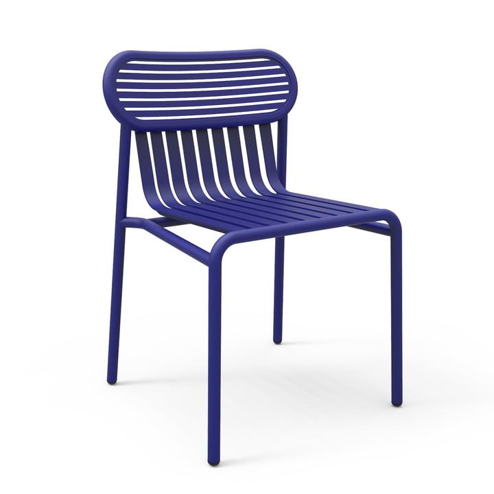 Petite Friture - Week-End Stuhl, blau (RAL 5002)