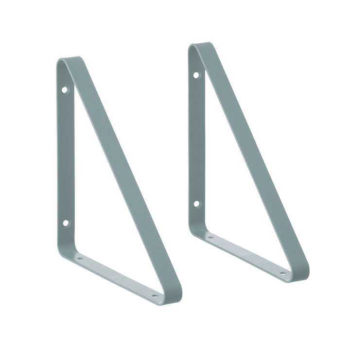 ferm Living - Shelf Hangers Regalsystem, dusty blue