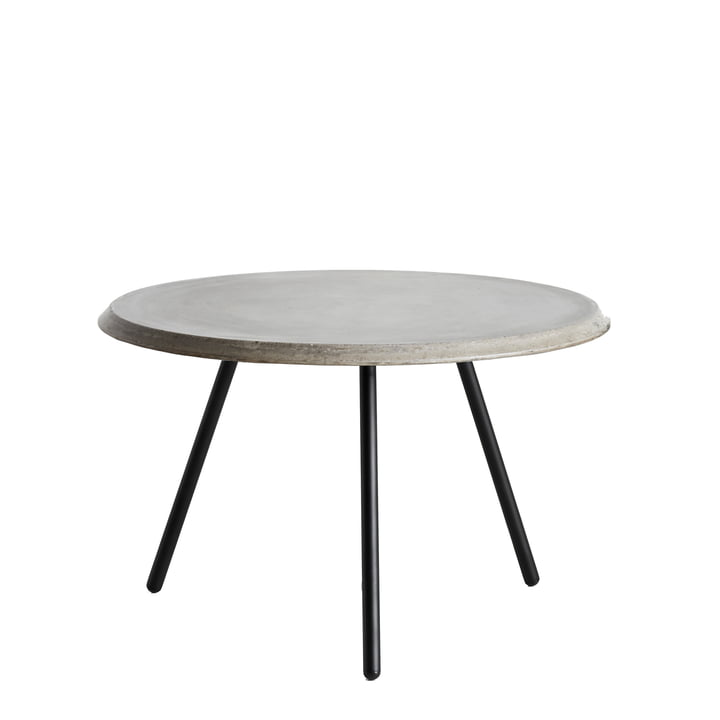 Soround Side Table H 39.5 cm / Ø 60 cm von Woud in Beton