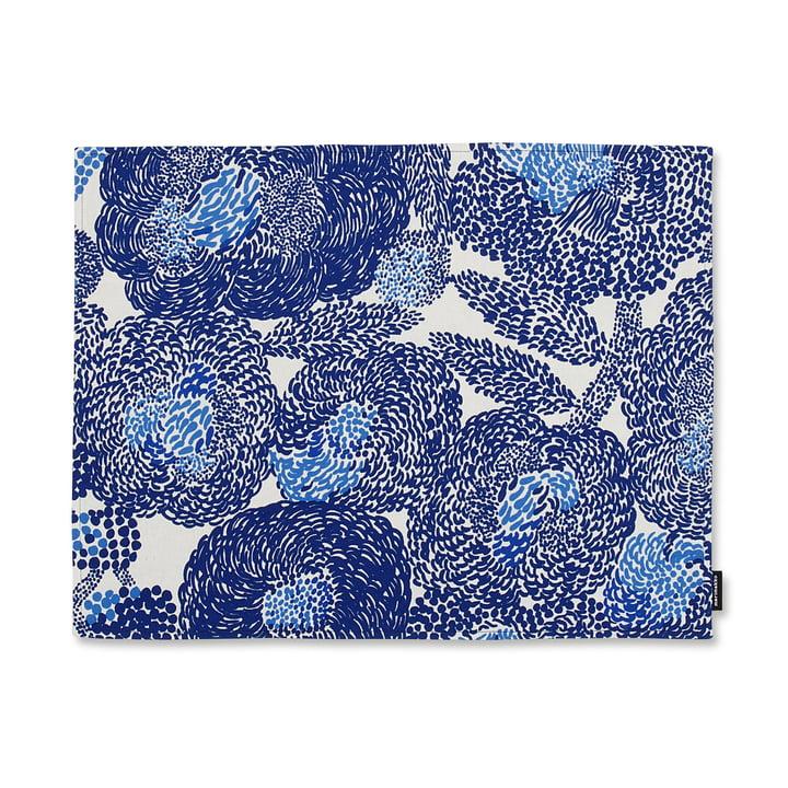 Das Marimekko - Mynsteri Tischset in blau / weiß