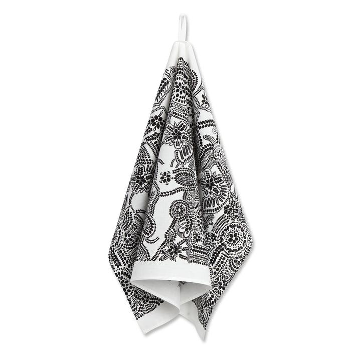 Das Marimekko - Näsiä Geschirrtuch, 47 x 70 cm, schwarz / weiß