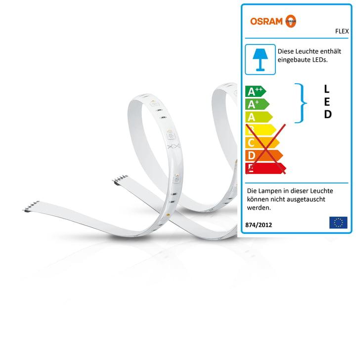 Der Osram - SMART+ Flex 2P Multicolor LED-Streifen RGBW (2x 60 cm)