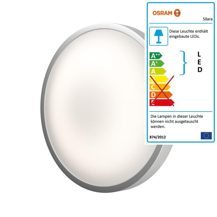 Die Osram - Silara Remote LED Deckenleuchte, Dimmbar, Ø 30 cm