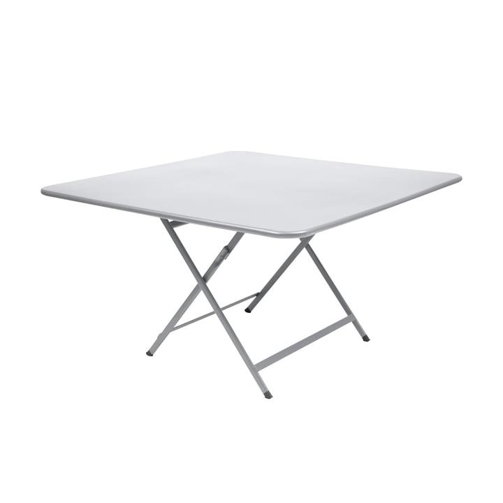 Der Fermob - Caractère Tisch, 128 x 128 cm in baumwollweiß