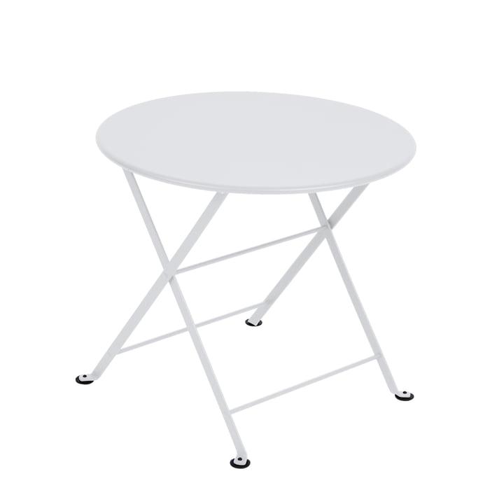 Der Fermob - Tom Pouce Niedriger Tisch in baumwollweiß