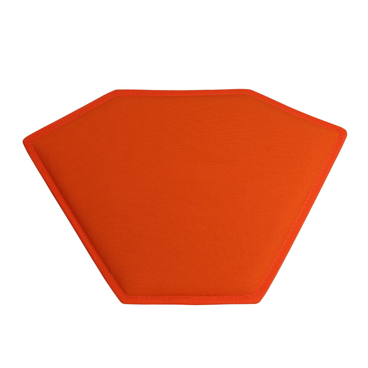 Das Magis - Stool One Sitzkissen in orange