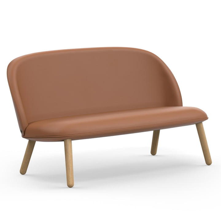 Das Normann Copenhagen - Ace Sofa Tango Leather, brandy