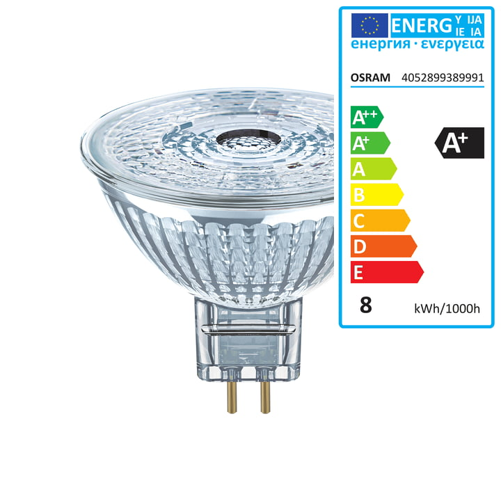 Osram - Superstar MR16 35 (36°) LED Reflektorlampe, GU5.3 / 12 V