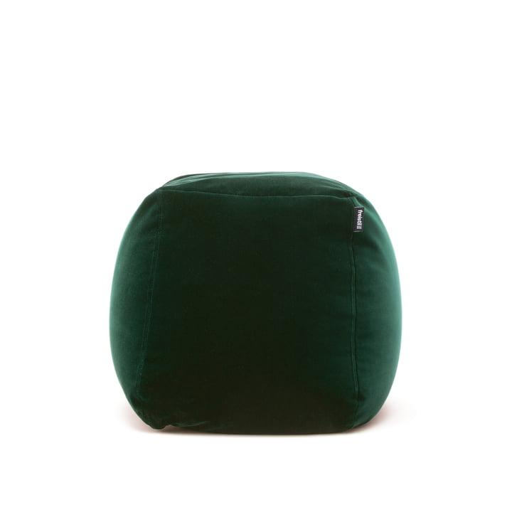 Der freistil - 173 Pouf, Ø 55 cm in tannengrün (6084)