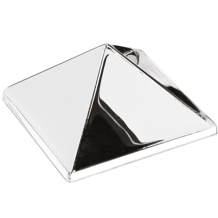 Die Verpan - Mirror Sculptures, 1 Pyramid, silber / verspiegelt