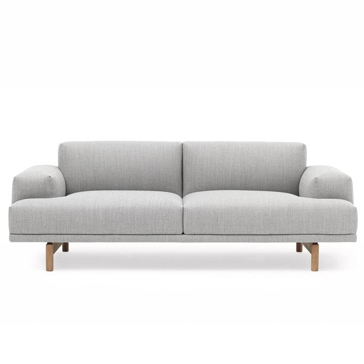 Compose Sofa 2-Sitzer von Muuto in Vancouver 14 / Eiche
