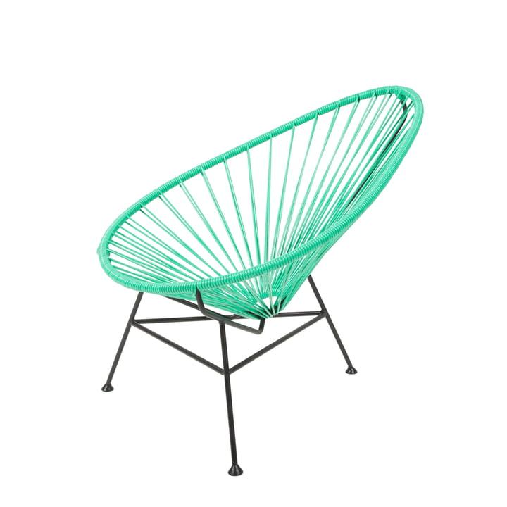 Der Acapulco Design - Acapulco Mini Chair in verde / schwarz