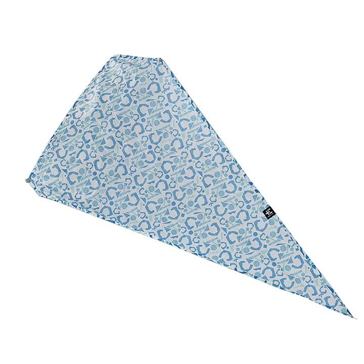 Der Terra Nation - Ata Reka Schattenspender / Seitenteil für Reka Kohu in blau gemustert