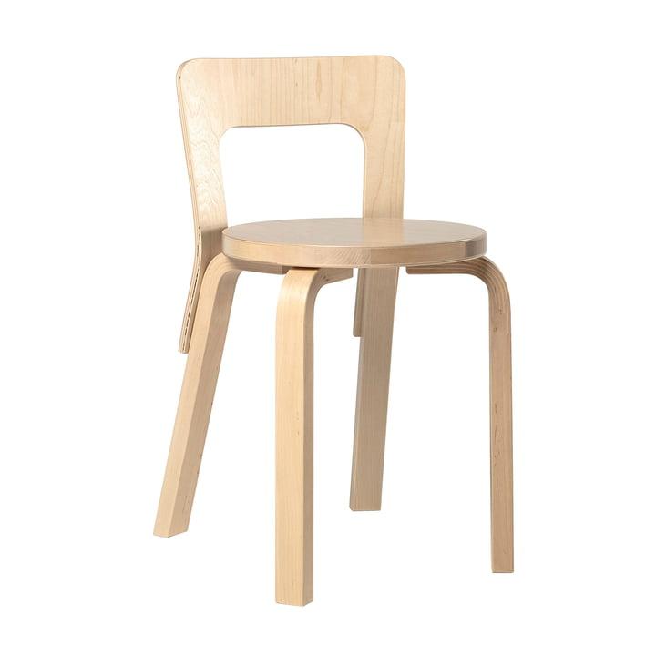Der Artek 65 Stuhl, Birkenfurnier