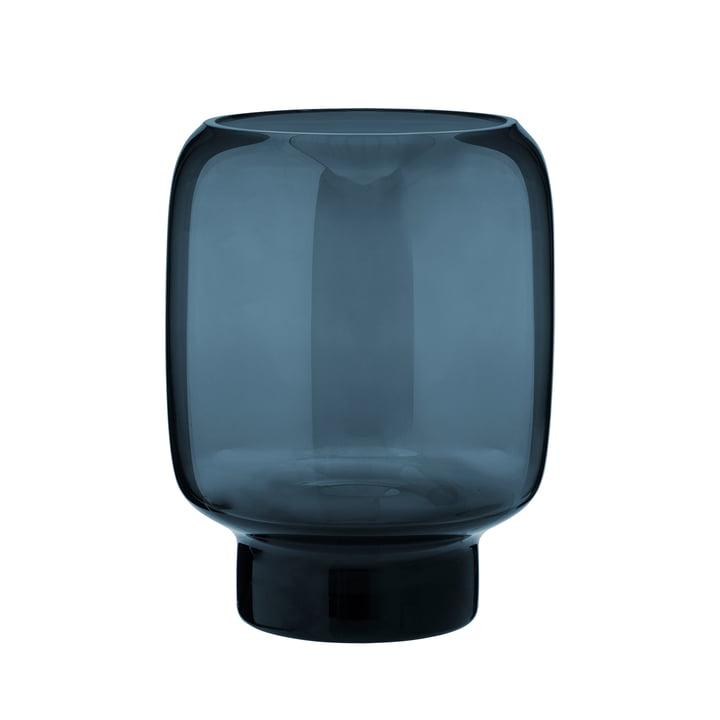 Stelton - Hoop Vase, H 20 cm, midnight blue