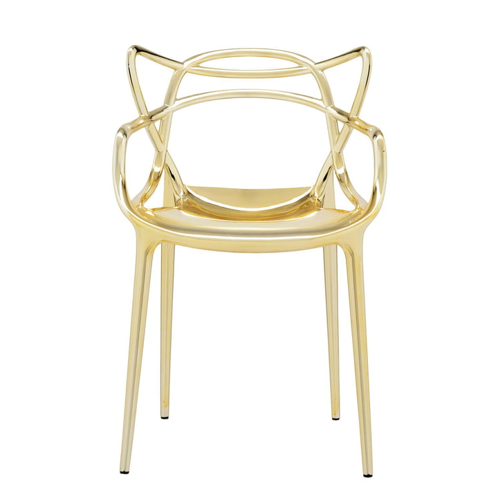 Der Kartell - Masters Stuhl, metallic gold