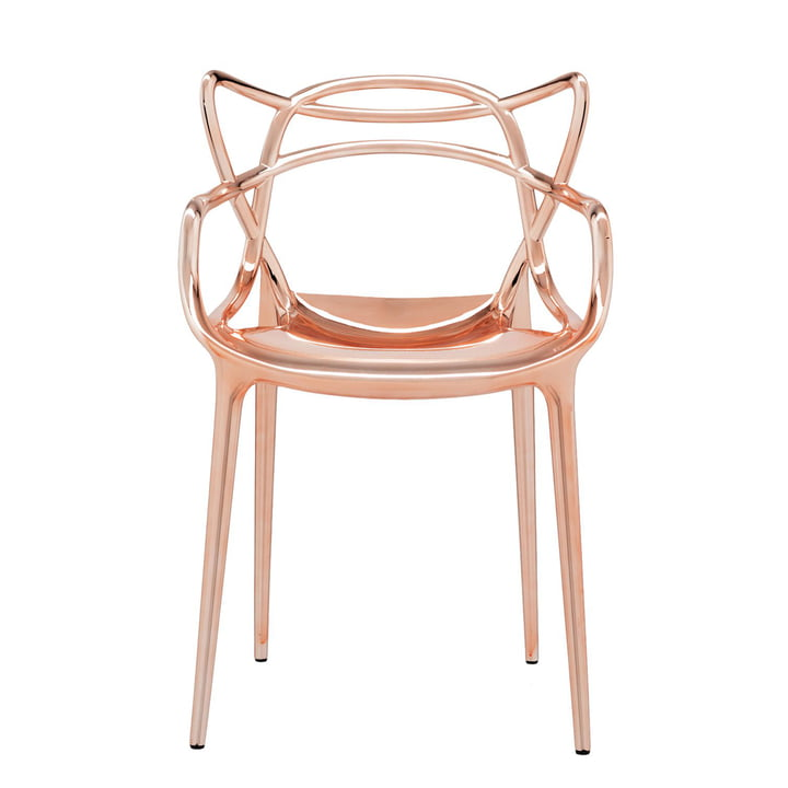 Der Kartell - Masters Stuhl, metallic kupfer