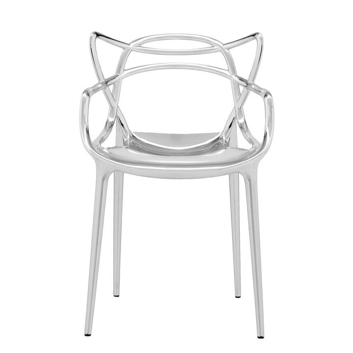 Der Kartell - Masters Stuhl, metallic verchromt