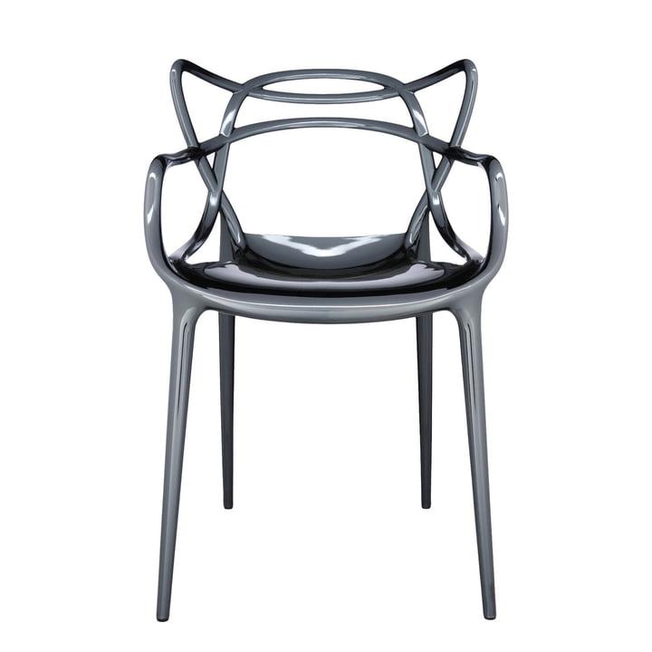 Der Kartell - Masters Stuhl, metallic titan
