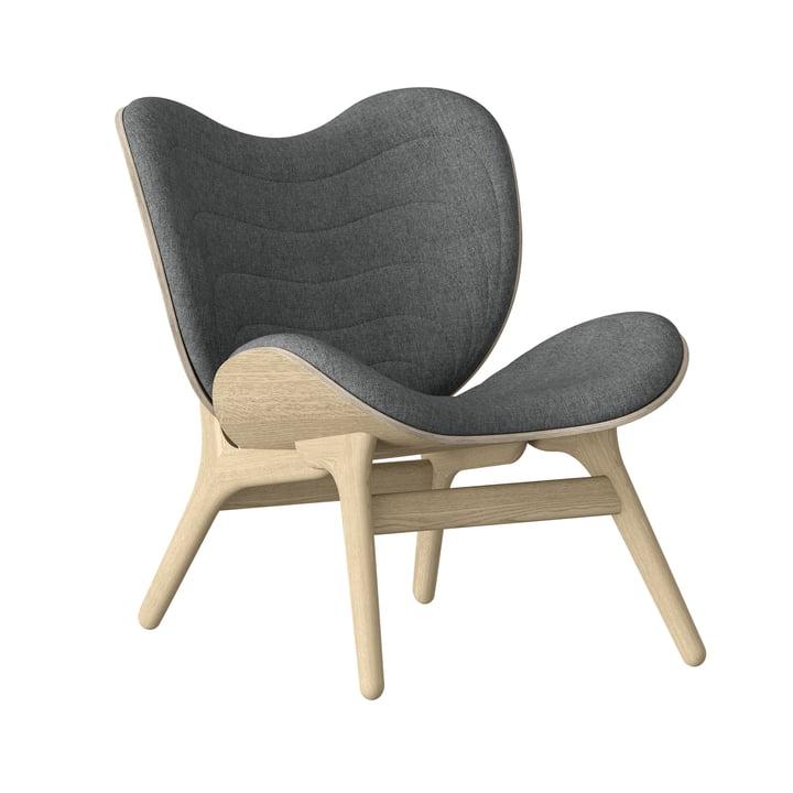 A Conversation Piece Sessel von Umage in Eiche natur / slate grey