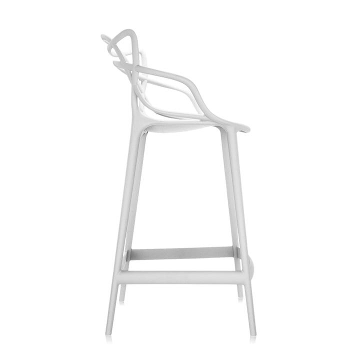 Der Kartell - Masters Barhocker, H 65 cm / weiß