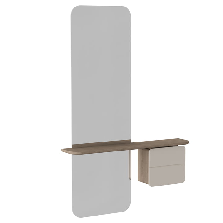 Der Umage - One More Look Spiegel, pearl white