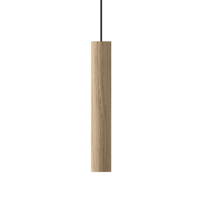 Die Umage - Chimes Pendelleuchte LED, Ø 3 x 22 cm, eiche