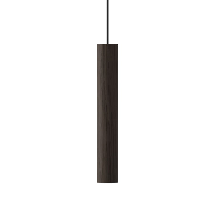 Die Umage - Chimes Pendelleuchte LED, Ø 3 x 22 cm, eiche dunkel