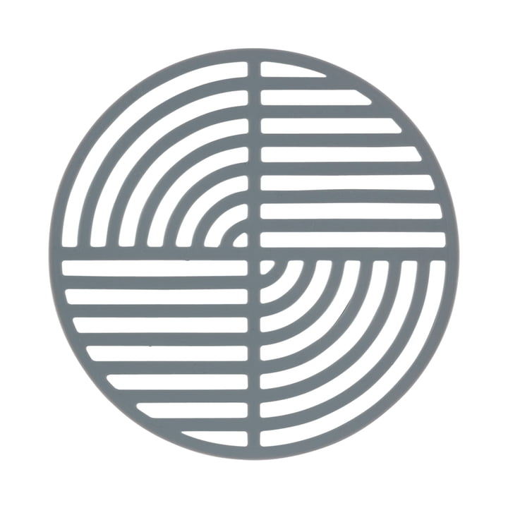 Der Zone Denmark - Circle Untersetzer in cool grey
