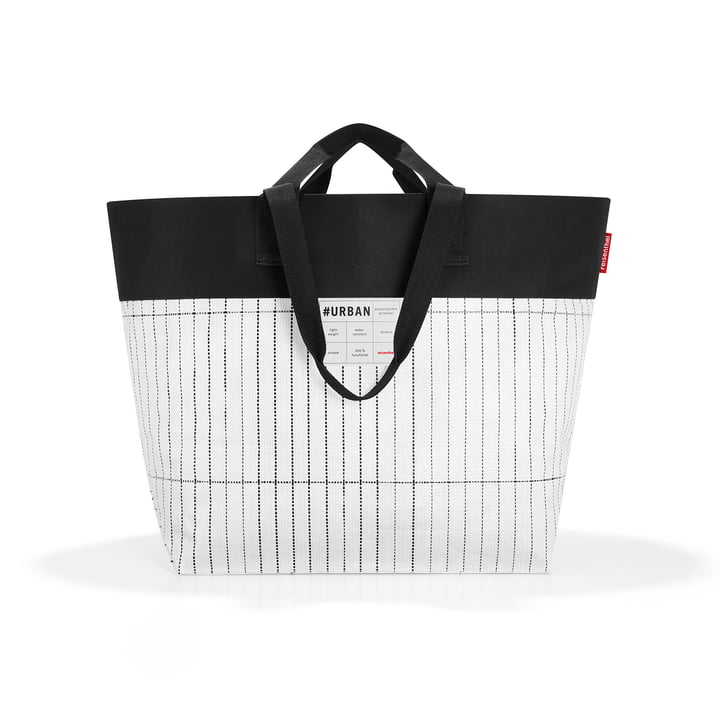 Die reisenthel - urban bag tokyo, schwarz / weiß