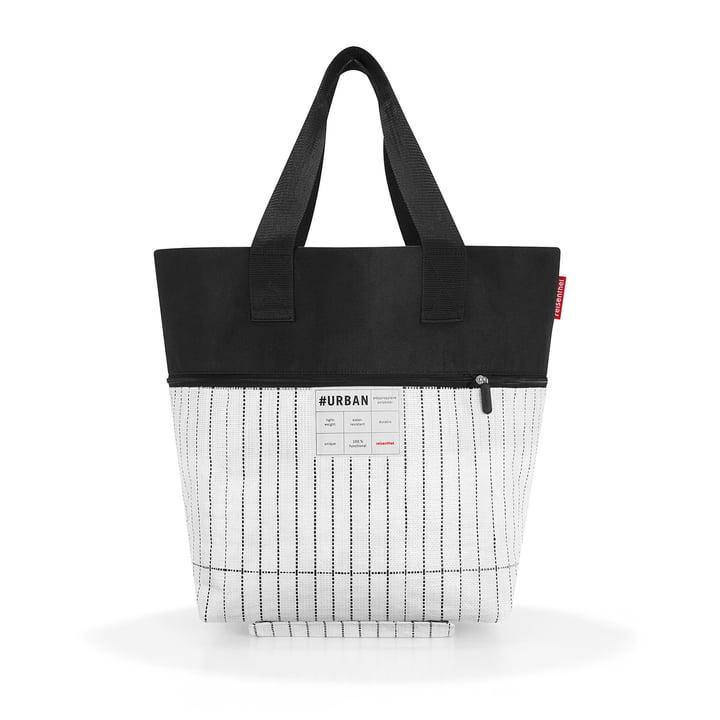 Die reisenthel - urban rollbag berlin, schwarz / weiß