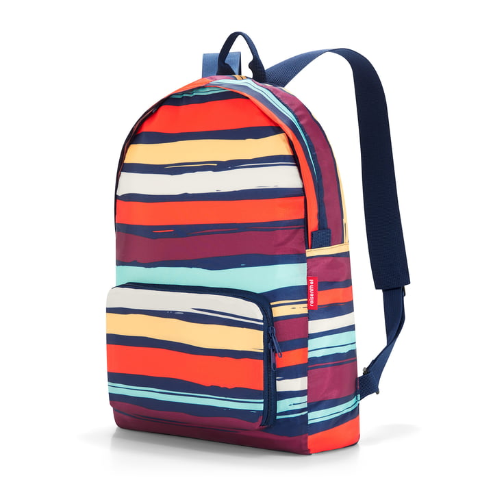 Der reisenthel - mini maxi Rucksack, artists stripes