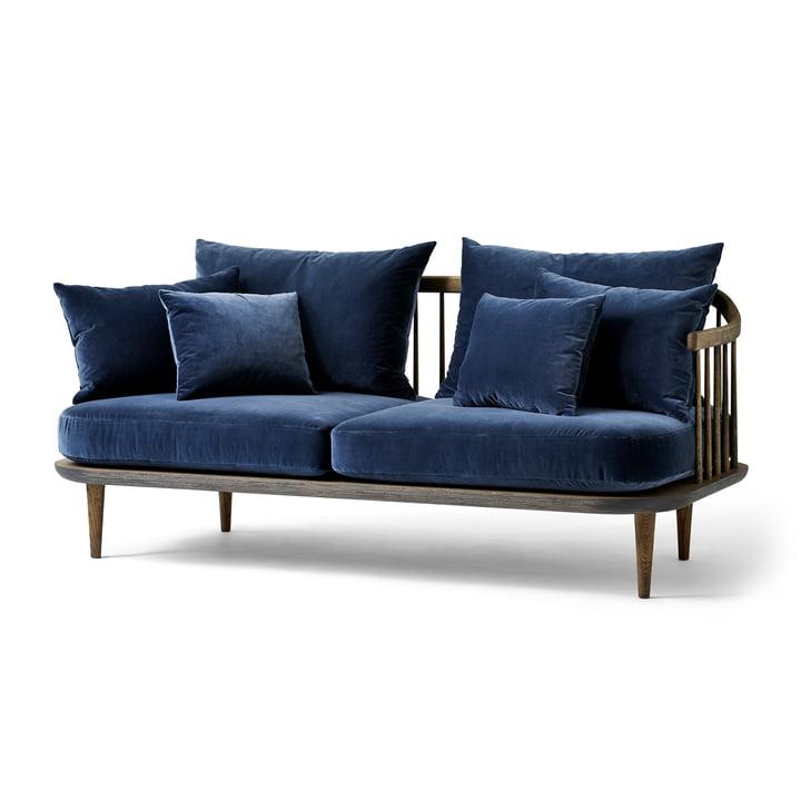 Das &Tradition - FLY 2-Sitzer Sofa SC2, Gestell Eiche geräuchert / Bezug Harald 2 182