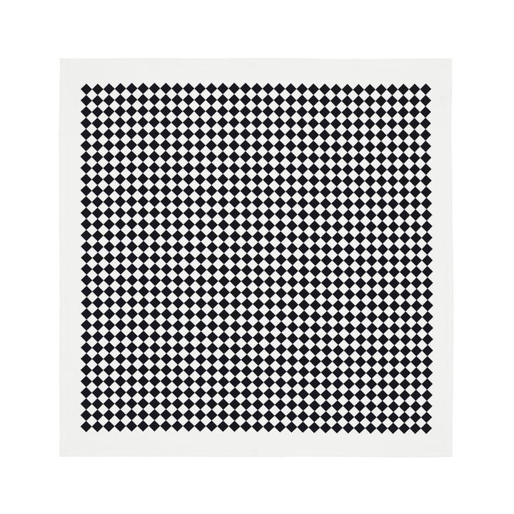 Tischdecke 120 x 120 cm Checker von Vitra in Schwarz